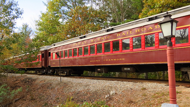 Take a Mother's Day ride on the Conway Scenic Railroad.