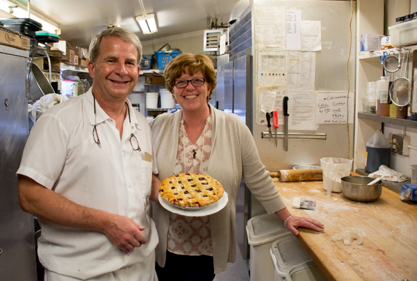Toby and Pattie Fried, owners of Lou's Restaurant & Bakery in Hanover.