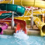 Kahuna Laguna Water Park offers guests a tropical getaway all year.