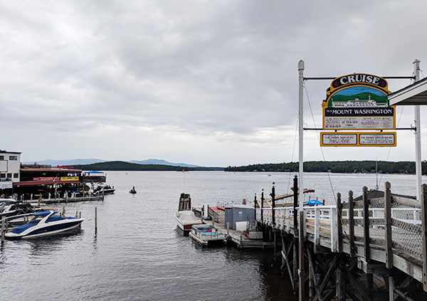 Experience unbeatable lake views that will make your trip aboard the Mount Washington one to not forget.