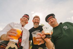 The Highland Games evokes Scottish Culture with a fun day of eating, drinking, and competition.