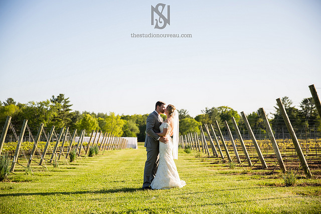 Flag Hill Winery Wedding Landscape