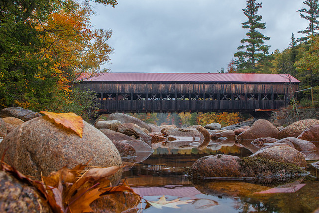 Explore New Hampshire's covered bridges while solving an epic scavenger hunt!