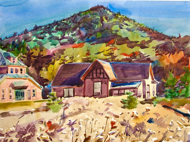 Appalachian Mountain Club Presents White Mountain Art Exhibit By Master Plein Air Painter, Michael E. Vermette, in Crawford Notch