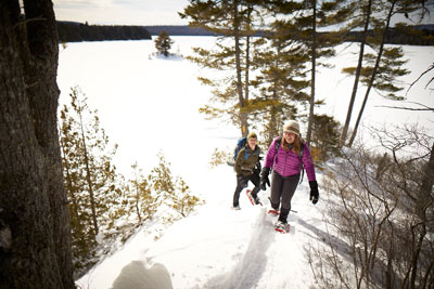 Take a hike with AMC and explore New Hampshire's 4000 footers in winter.