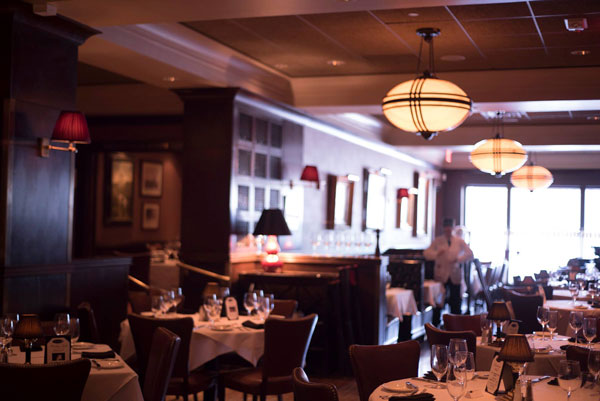 Upscale ambiance makes Hanover Street Chophouse the perfect choice for a romantic dinner in Manchester, NH.