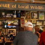 Delaney's Hole-in-the-Wall in North Conway is one of New Hampshire's best sports bars. The bar area is loaded with sports memorabilia.