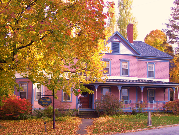 Only a short walking distance from local restaurants and attractions is Meredith Inn B&B