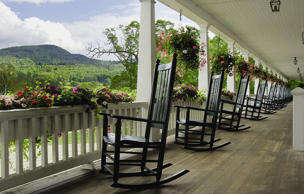 Sit back, relax, and take in the view at Eagle Mountain House & Golf Club.