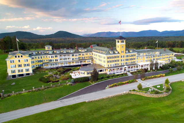 For a view only found in New Hampshire, visit the Mountain View Grand.