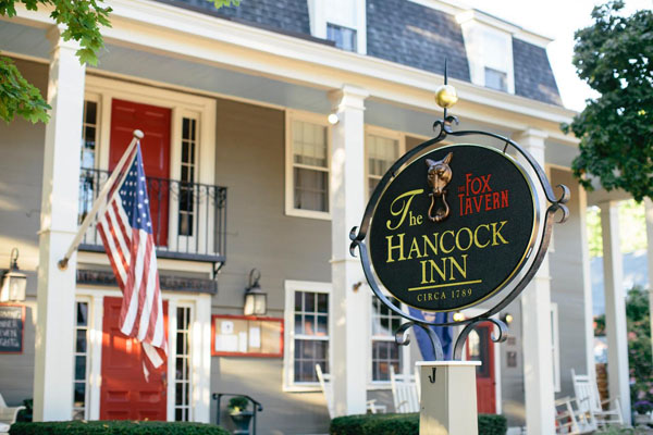One of the oldest operating inns in the country is the Hancock Inn.