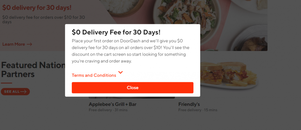 delivery apps door dash