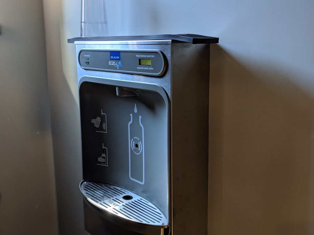 shopper's pub water fountain